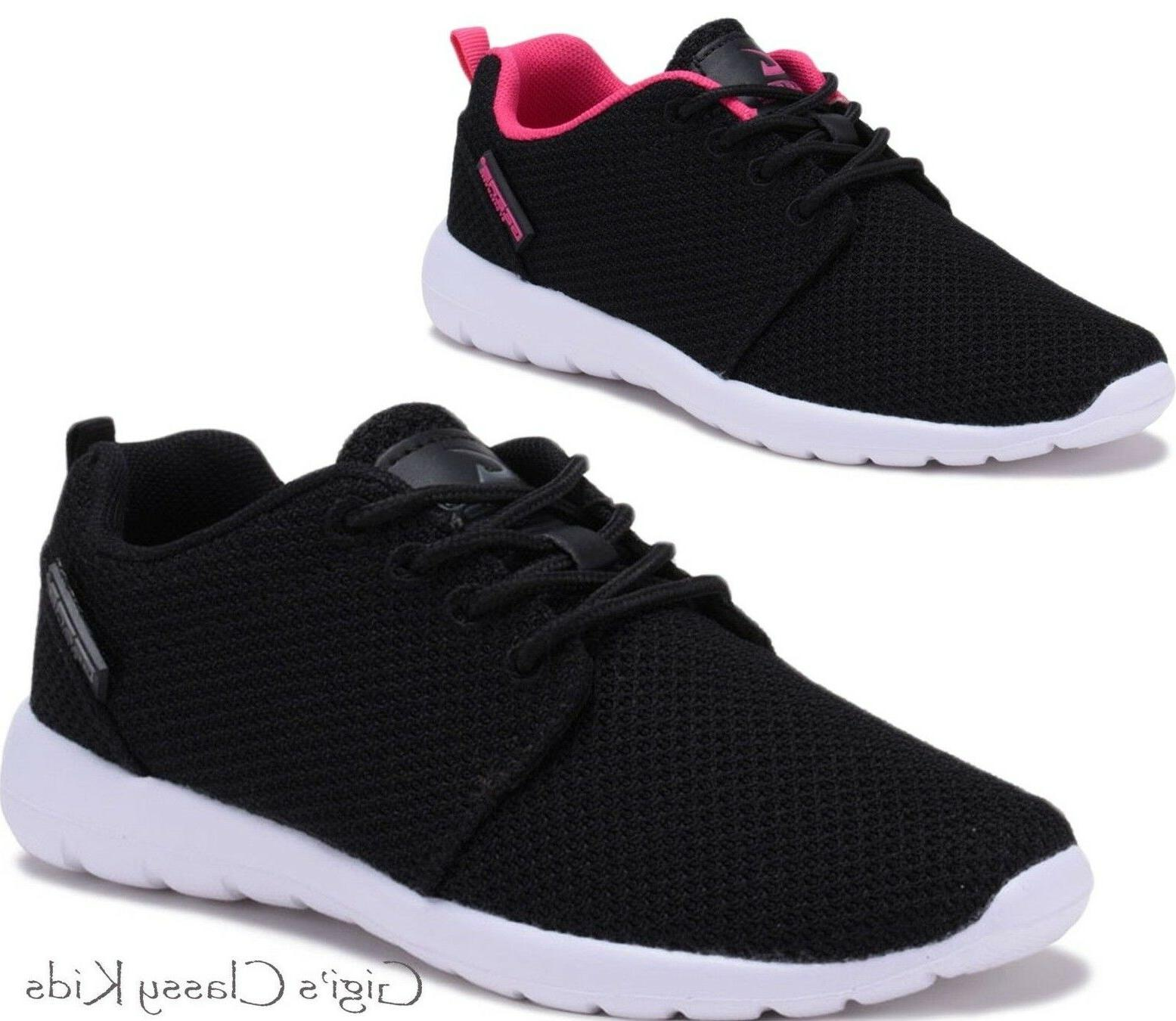 New Boys Girls Knit Tennis Shoes Breathable Running Sneakers