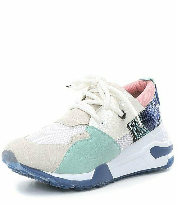 NEW Madden Cliff Sneakers Mint Green Size 6 MSRP: Free Shipping