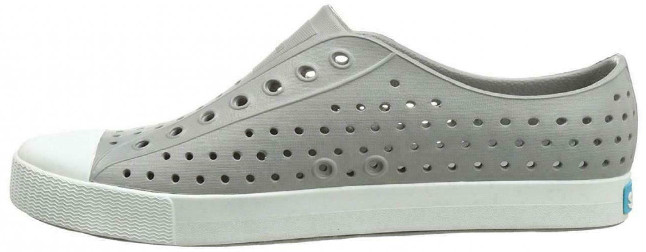 Slip On Grey Rubber Casual Mens 10 11