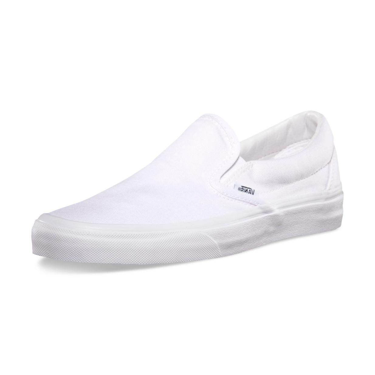 New & Vans Classic True White Era Canvas Shoes