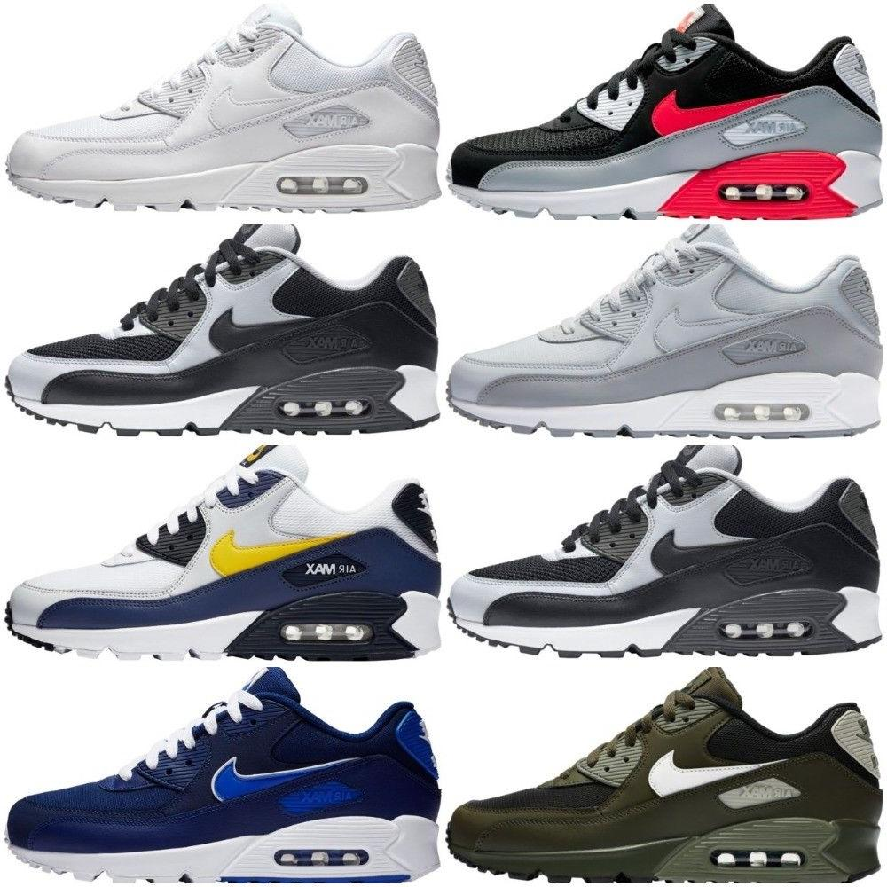 New Men's Nike Air Max 90 Essential Shoes Sneakers Casual At