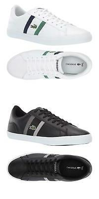 NEW Lacoste Men's Lerond Fashion Lace Up Casual Sneakers Fas