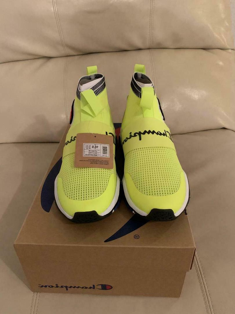 New Champion Pro Pastel Yellow Shoes Sneakers