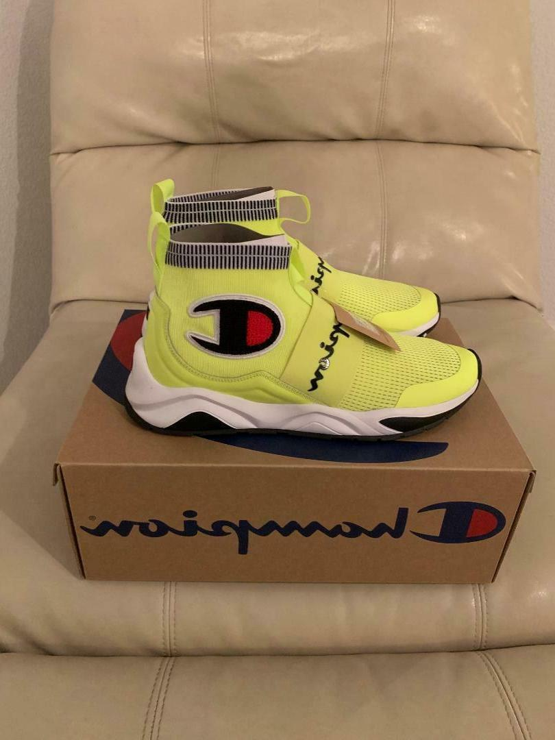 New Mens Pro Yellow Sneakers 10.5