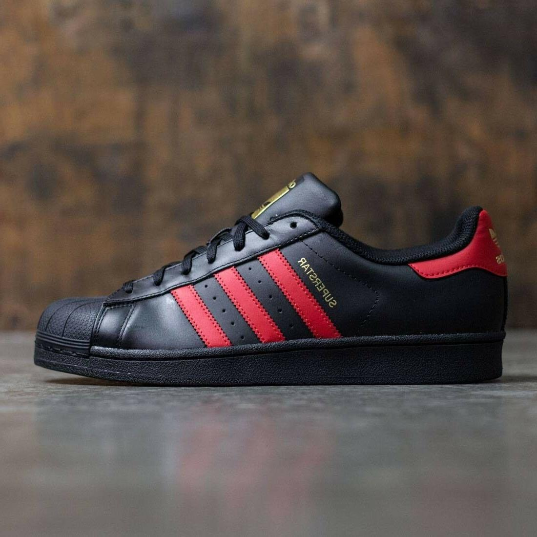 NEW MENS ADIDAS SUPERSTAR SNEAKERS S80694-SHOES-SIZE 9.5