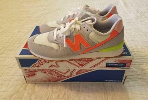 NEW WOMEN 6 6.5 9 9.5 NEW BALANCE FOR J CREW 696 SNEAKERS SH