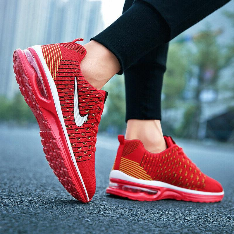 New Women's Flyknit Sneakers Casual Athletic