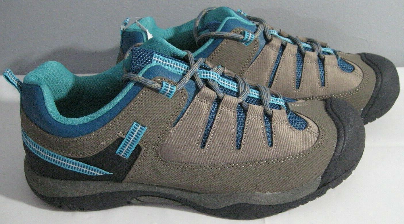 New Women's 178600 13 Turquoise & Brown Sneakers