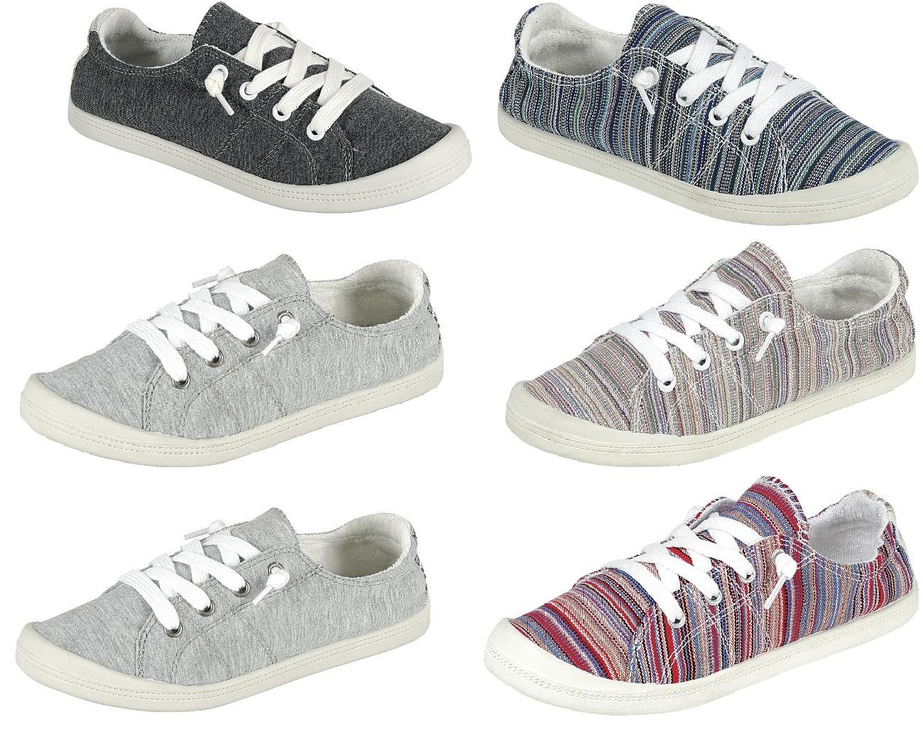 Canvas Shoes Slip-On