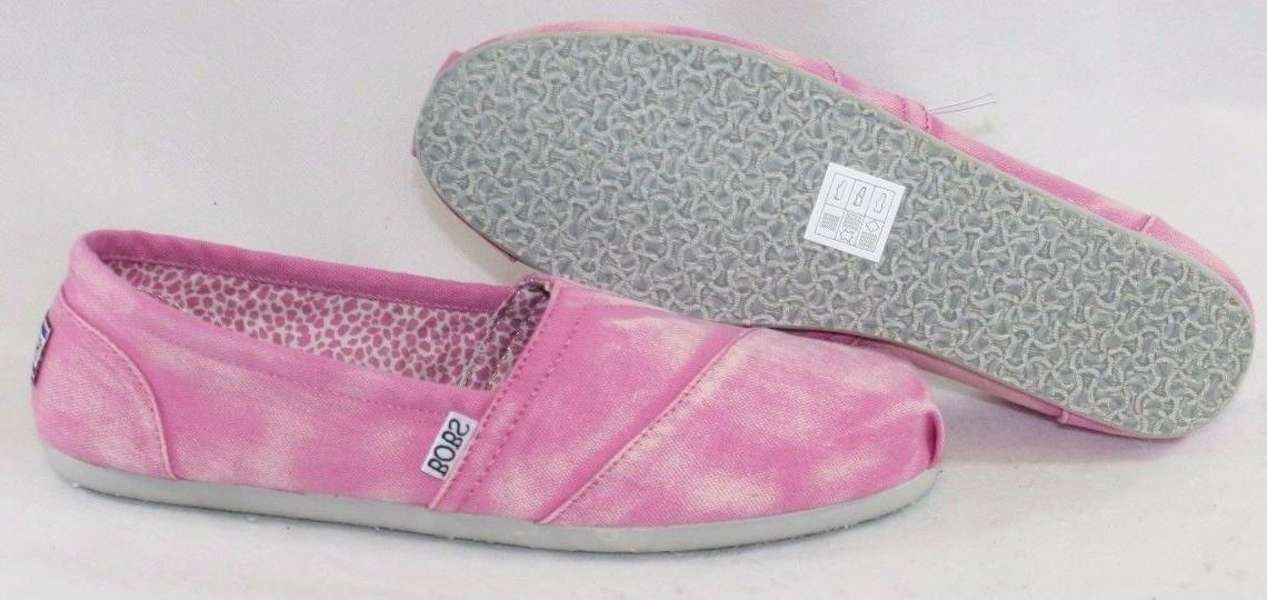 NEW Womens SKECHERS BOBS Stand By Me 34991 PNK Fashion Sneak