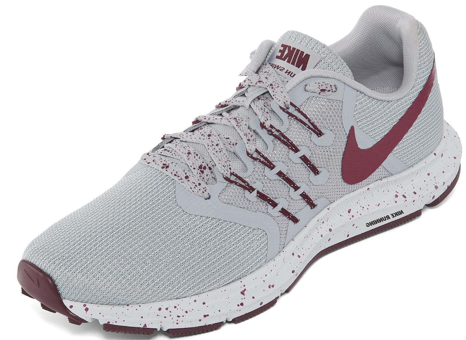 NIB Womens Nike Run Swift SE Maroon Gray