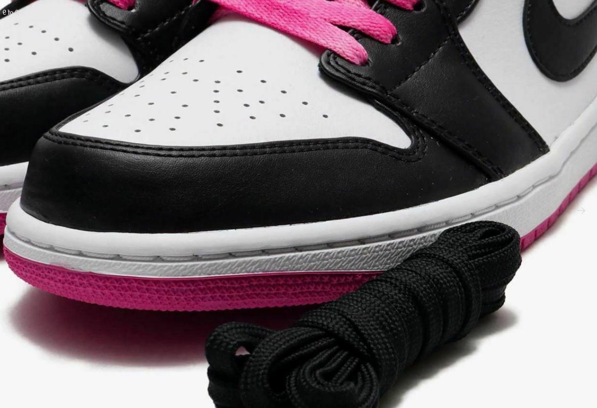 Nike Low Retro Mens Pink Fuscia