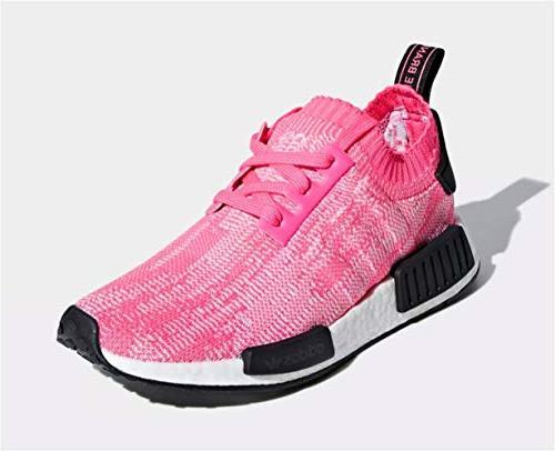Adidas Primeknit Pink/Solar Pink/Core AQ1104 9 US