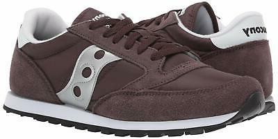 Saucony Lowpro Coffee/Silver M US