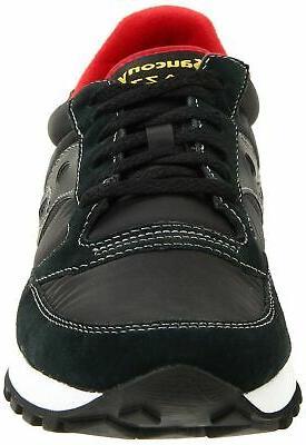 Saucony Original Fashion Sneaker,Black/Red,11 US