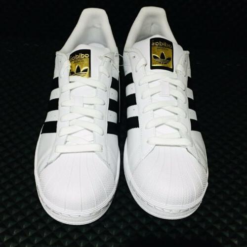 🔵 Superstar Men's Athletic Sneakers White