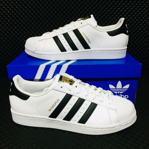 originals superstar mens size athletic sneakers white