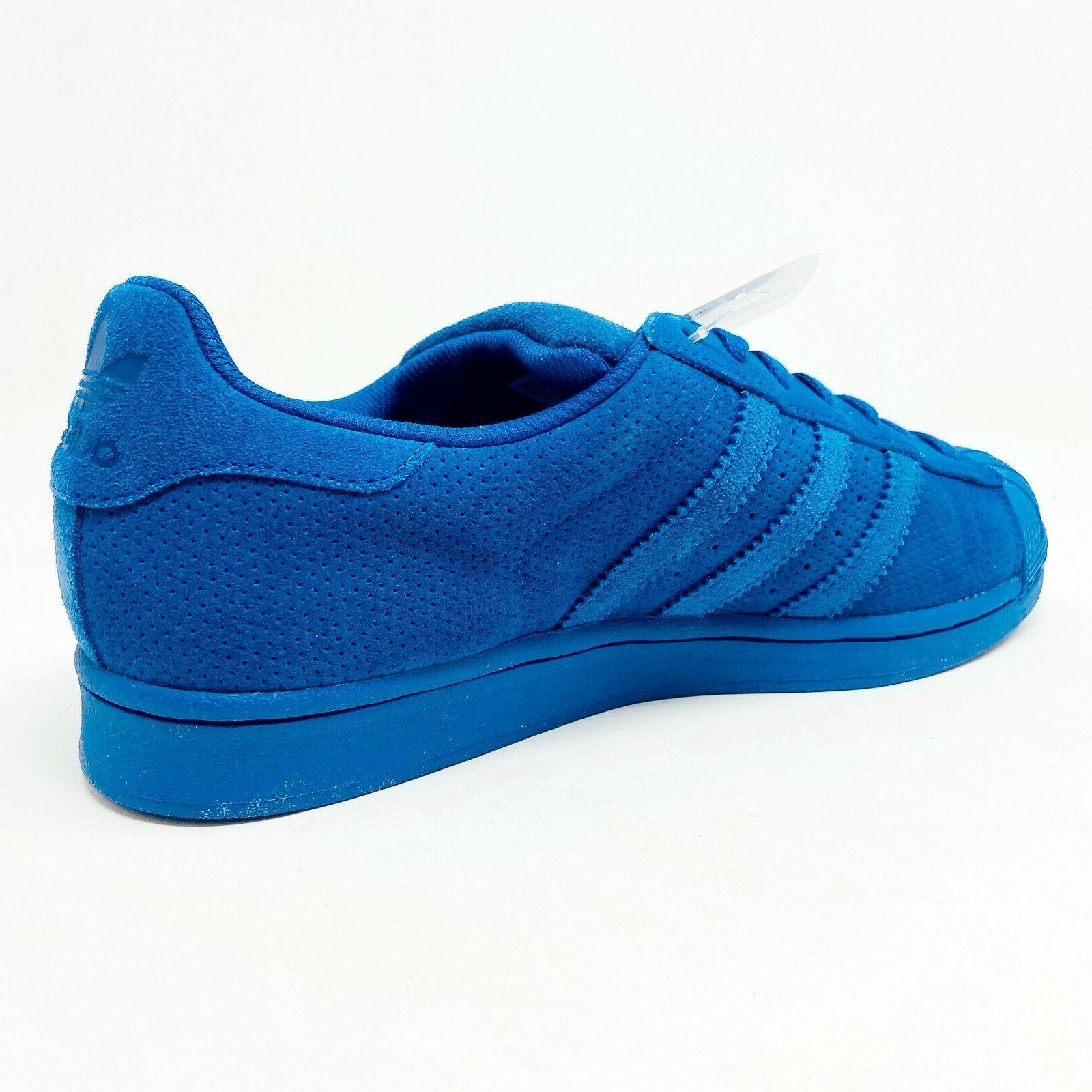 Mono Blue Mens Shell Toe