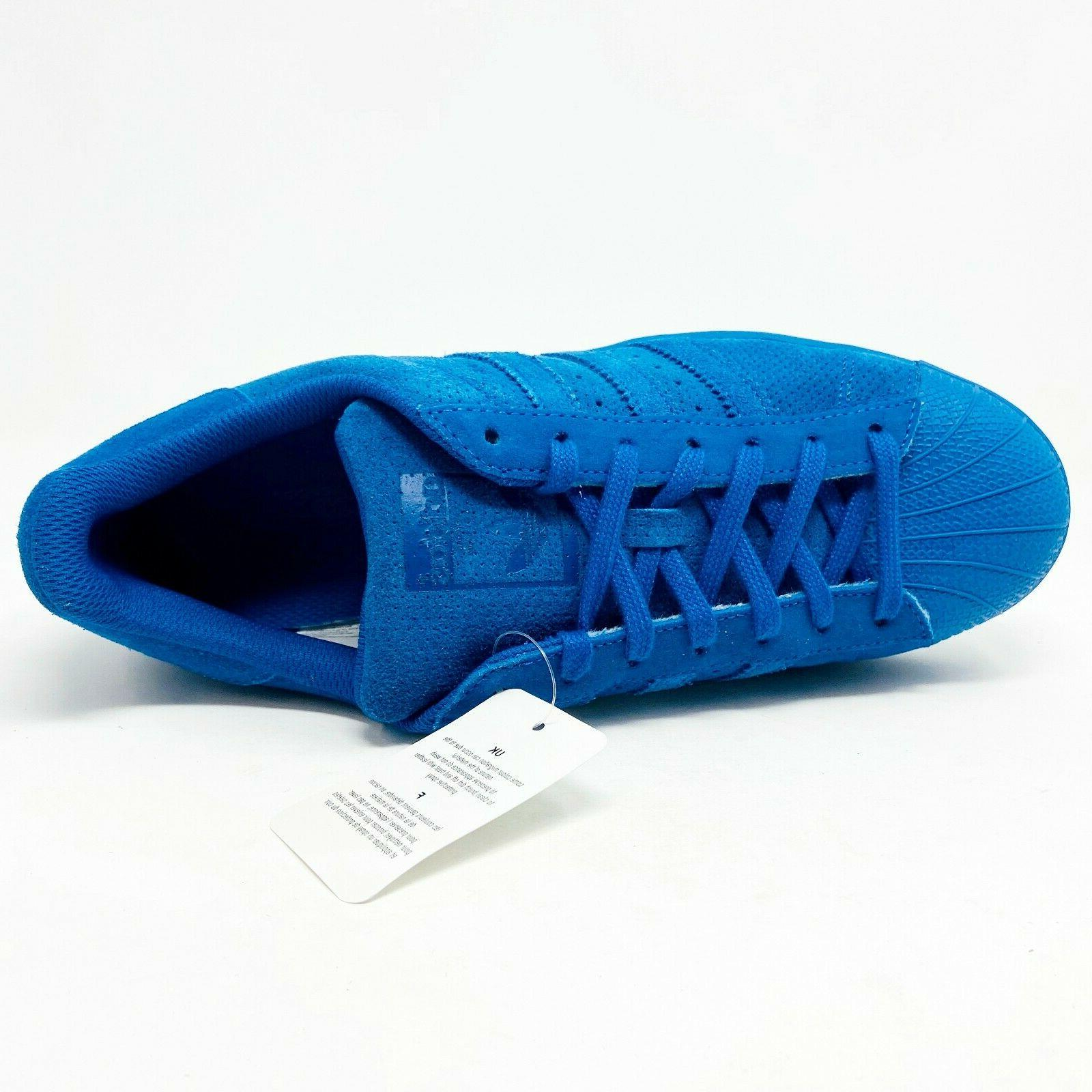 Adidas Originals Mono EQT Blue Mens Shell Toe
