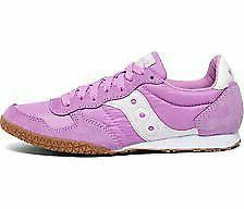 Saucony Originals Women's Bullet Sneaker, Violet/Gum Size 8.