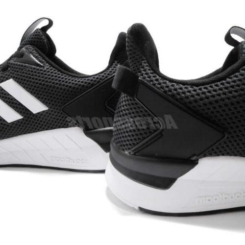 White Carbon Men Running Training Shoes