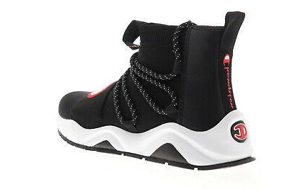 CP100172M Mens Black High Shoes 11