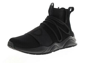 rally hype mid cp100173m mens black casual