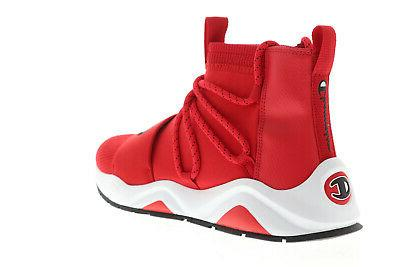 Champion Rally Hype CP100175M Mens Red Shoes