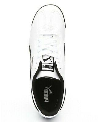 PUMA Roma 35357204 White Black Shoes Sneakers All
