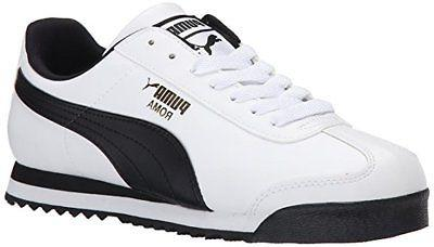 PUMA Roma Basic Classic 35357204 White Black Mens Shoes Snea