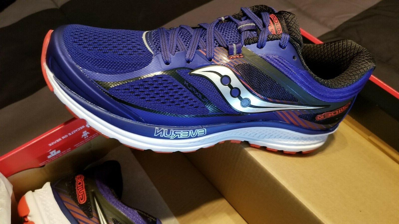 running shoes mens sneaker royal black size