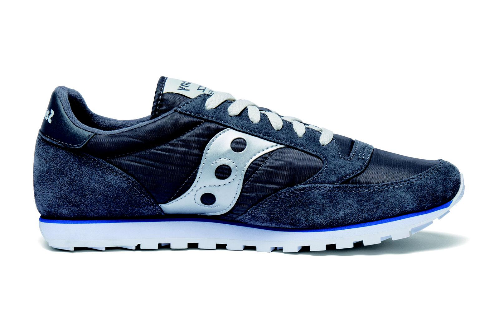 Saucony Low Pro Grey Blue / Silver