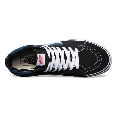 Vans Men's Canvas Suede Skateboard High-Top Shoes