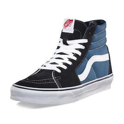 "Vans ""Sk8-Hi"" Canvas Skateboard High-Top Shoes"