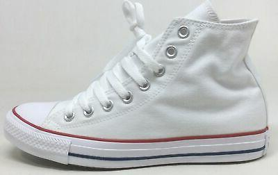 Converse Unisex All Star Hi Sneaker - Optic White OPT/WHT Si