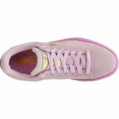 Puma Suede Casual Pink Girls