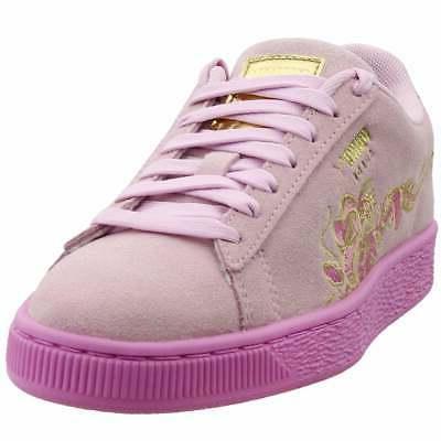 suede dragon big kid sneakers casual pink