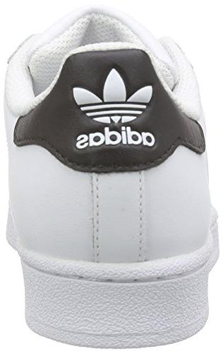 adidas Originals Superstar J Casual Low-Cut Basketball , 4 US Big Kid