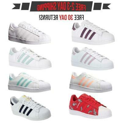 Adidas Superstar Women's Fashion Casual Sneakers