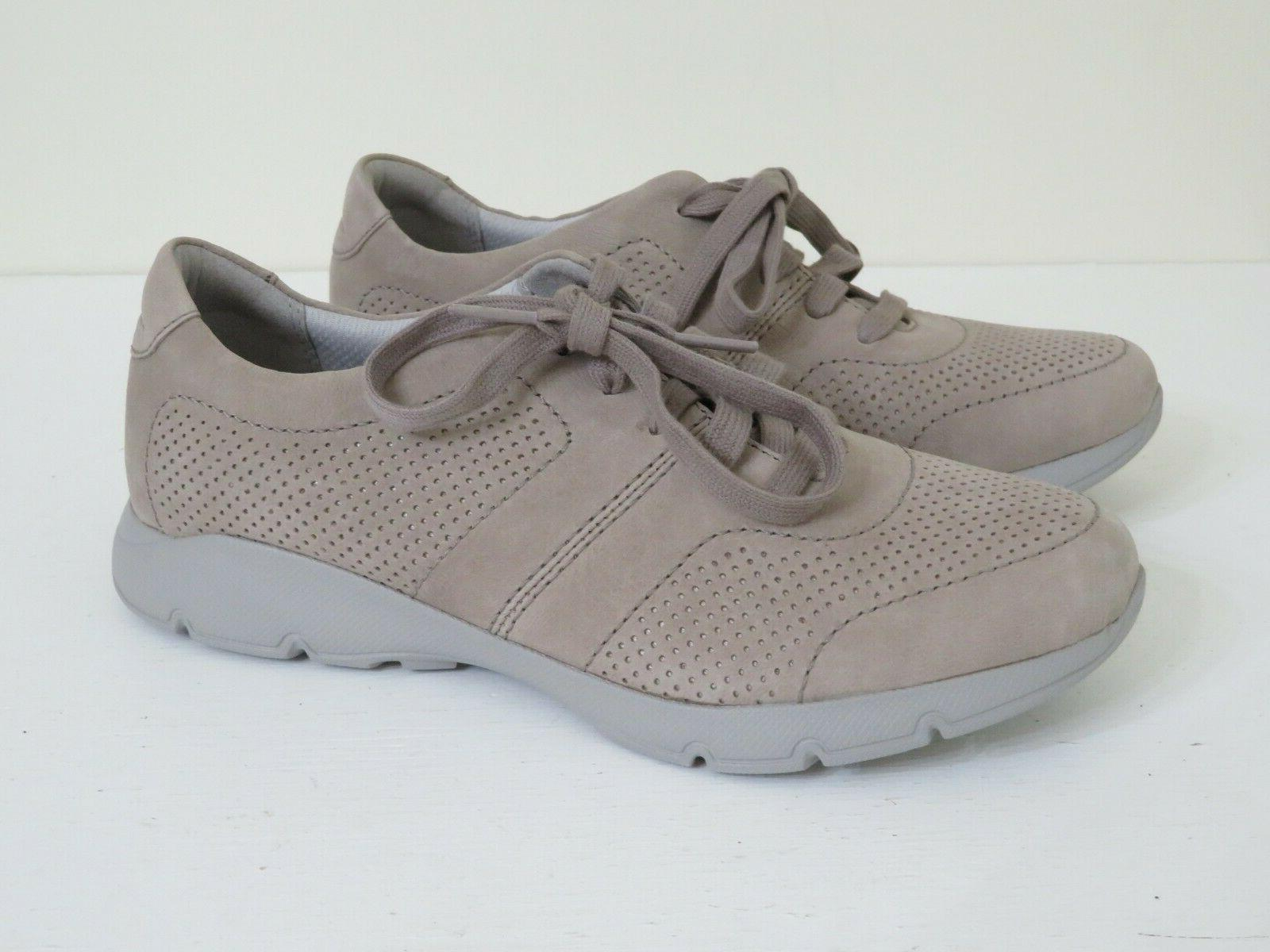 DANSKO TAUPE UP SHOES ALISSA SIZE 6.5-7