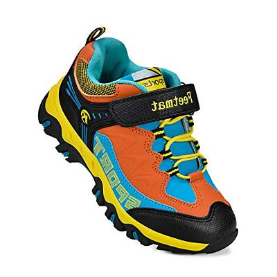 QANSI Boys Tennis Shoes Comfortable Waterproof Big Kids Athl