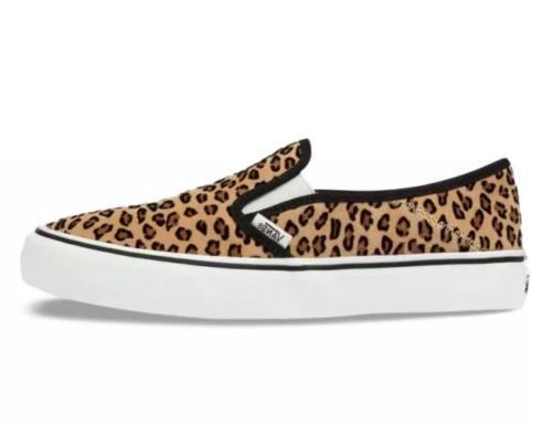 unisex slip on sf mini leopard sneakers
