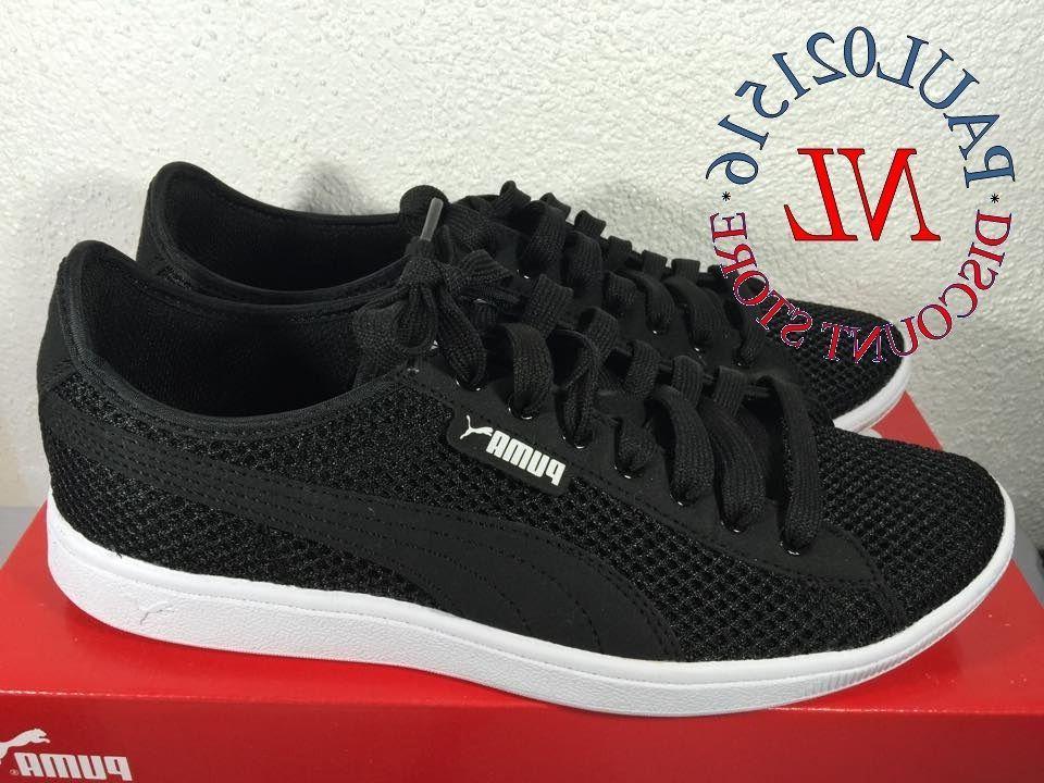 PUMA Vikky Mesh Women's Sneakers ~ Black ~ Various Sizes/