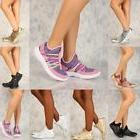Women & Kids Light Weight Metallic Looks Casual Slip On Shoe