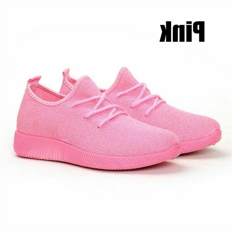 Women Flat Running Sneakers tennis
