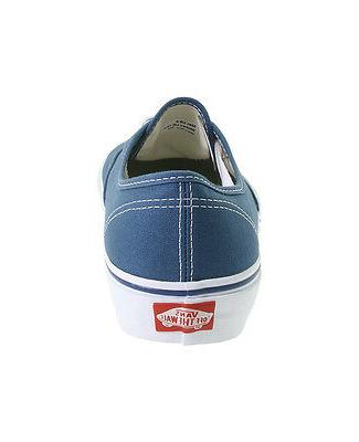 Vans Unisex Shoes Navy Canvas Classic Sneakers