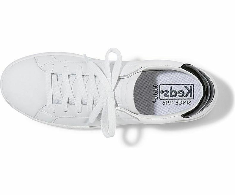 Keds Ace Leather Tennis Shoe Sneakers $65