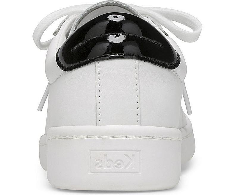 Keds Ace Leather Tennis Shoe Sneakers White/Black Pick A MSRP $65