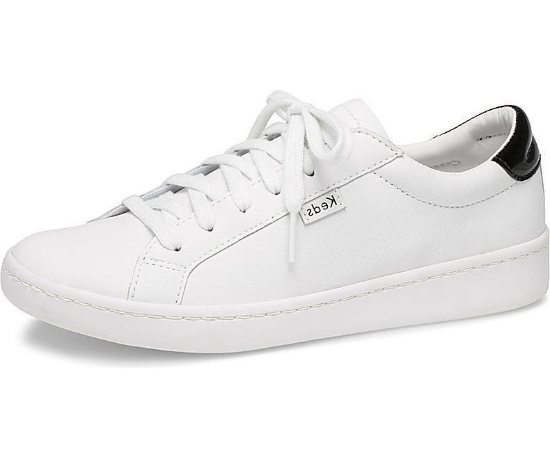 women s ace leather tennis shoe sneakers