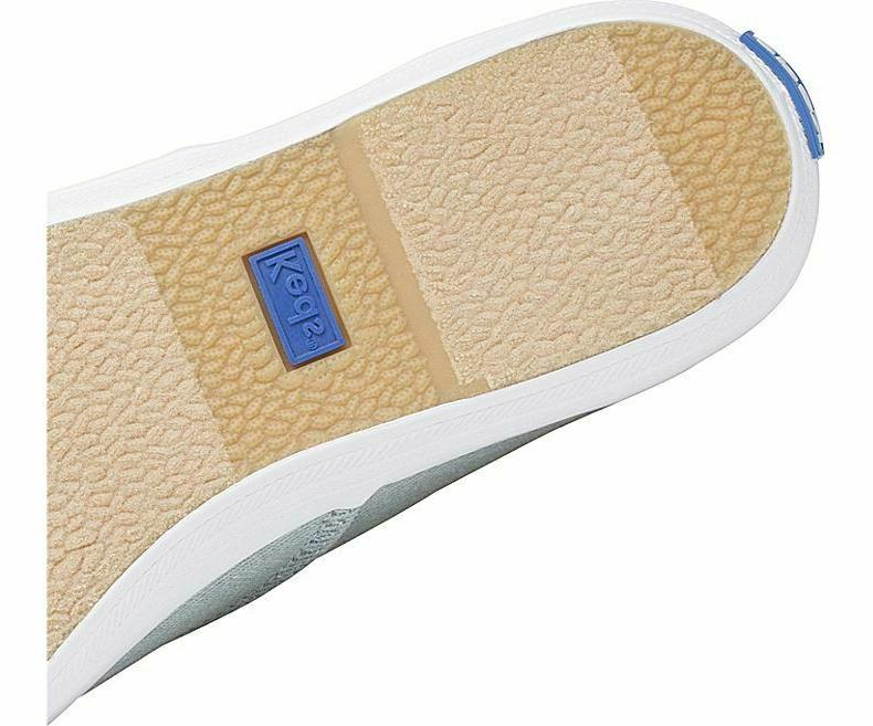 Keds Women's Champion Denim Lace-Up Sneakers Blue,